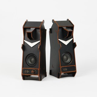 Stereo Puzzle - Stereo Formosan Black Bear Speakers