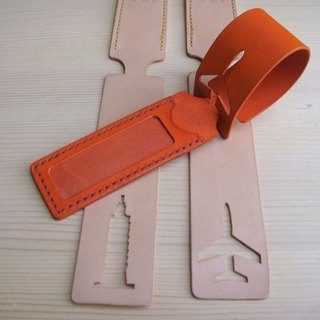 ISSIS - Handmade Leather Luggage Tag