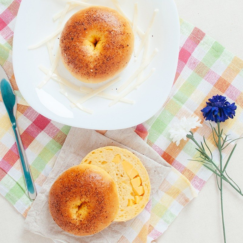 [Boobbi Bagel Bobi Bei fruit] carrot cheese bagel