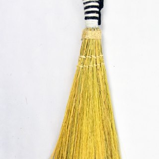 jute Broom-zebra_Fair Trade