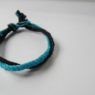 Cowboy is very busy / hand-woven bracelet