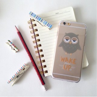 Lovely Owl Print Soft / Hard Case for iPhone 5/5S, iPhone 4/4S, Samsung Galaxy Note 4 Note 3, S5, S4, S3