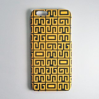 SO GEEK phone shell design brand THE ORACLE GEEK inscriptions subsection (gold)