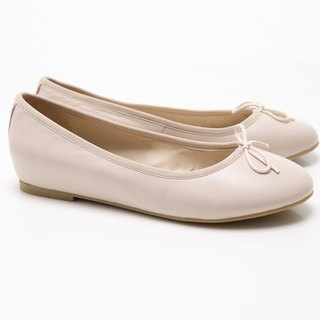 [Saint Landry] LAND classic leather bow ballet shoes - meters