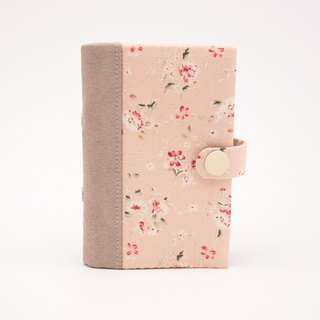 A Book Card Set - Pink Orange Flower