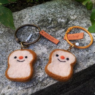 Wool Needle Felt - Delicious Toast ~ (Headphones + Plugs + Necklaces)