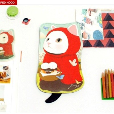 Jetoy, choo choo sweet cat doll second-generation styling 000 packets _Red hood (J1410701)