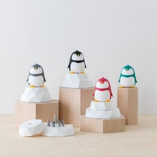 【Lovable】PenGuin W/Ice Block All Color Collecting Pack