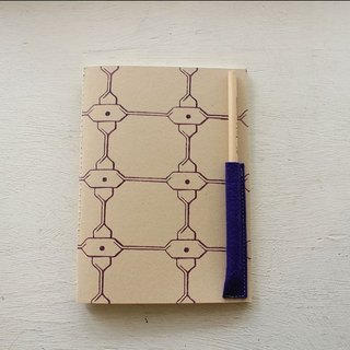[ZhiZhiRen] Yuan | car suture Notebook - salt away behind bars - Purple