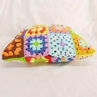 Original Series * colorful crocheted stitching Sen Department pillow pillowcase