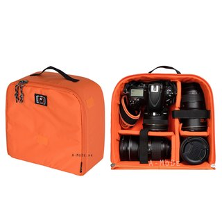 Camera bag insert for camera and lenses backpack case IN03