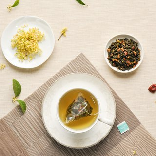 Princess night | Fu Osmanthus Oolong Tea - Packed into 8 / Triangle tea bags of herbal tea] [HERDOR