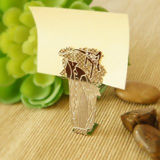 Good co Court will Qian jade cabbage clip silver
