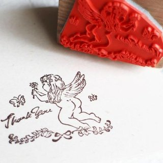 Angel's thank you Stamp