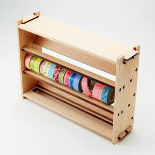 DIY paper tape storage building