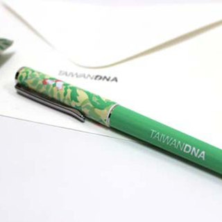 Taiwan DNA Steel Ball Pen - Yushan Xiaomi Grass