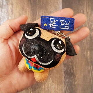 Skillful cat x city cat Ba Ge pure hand-sewn custom name commemorative puppet hanging ornaments key ring birthday