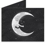Mighty Wallet® 紙皮夾 Moon Hug
