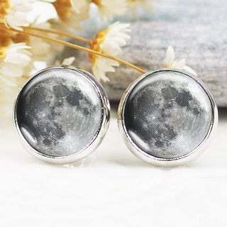 Moon - ear clip earrings earrings ︱ ︱ ︱ little face modified fashion accessories birthday gift