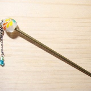 Grapefruit Forest Handmade Glass - Design Style - Dream Rainbow Glass - Hairpin - Rainbow