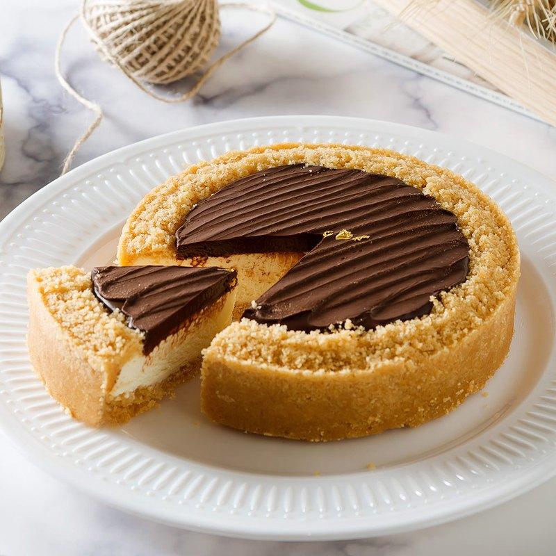 艾波索【比利時巧克力乳酪6吋】蘋果日報蛋糕評比冠軍