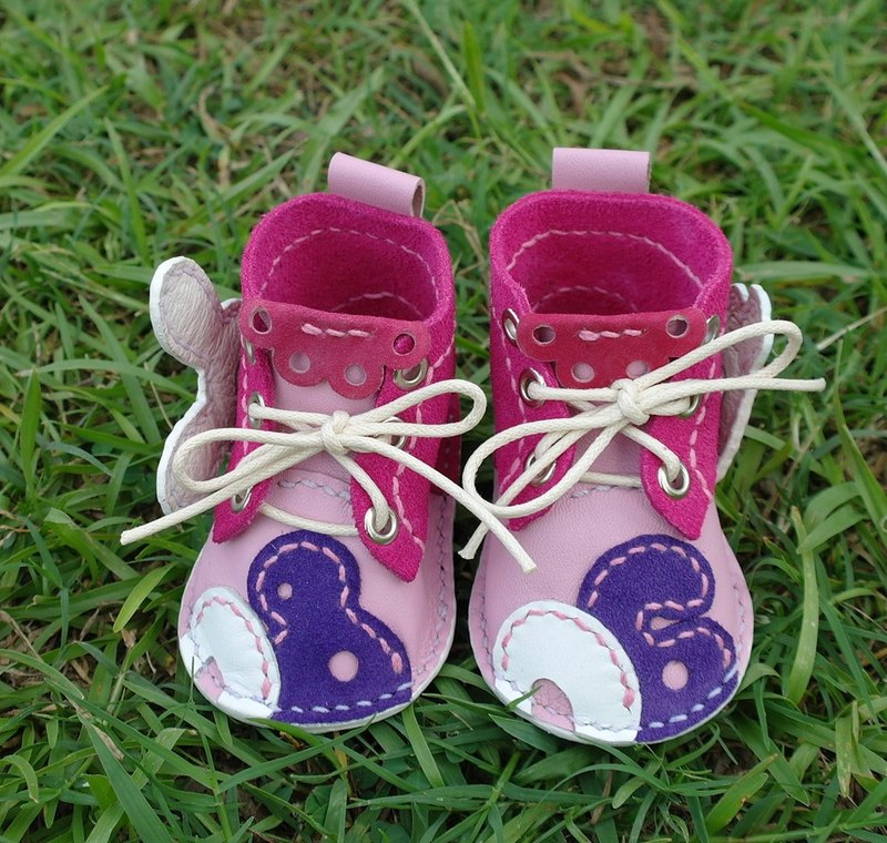 Cute baby birthday commemorative handmade shoes 140,910