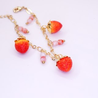 *Playful Design* Strawberry Bracelet