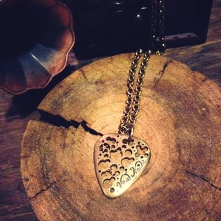 NEW NOISE - BRASS PICK NECKLACE