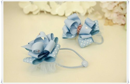 Romantic Sasa bow hairpin / hair bundle