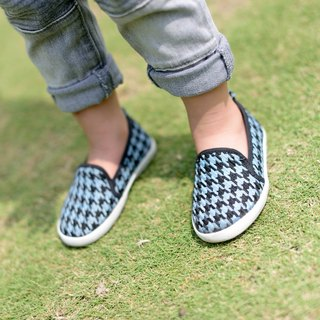 """Baby Day"" totem classic houndstooth paternity shoes / dazzling blue shoes paternity shoes"