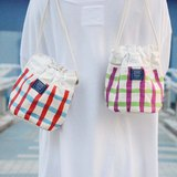 ::Bangstree:: Shoulder Bucket Bag -grid