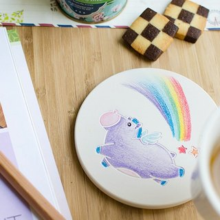 【Customized gifts】 Zodiac series ┇ custom ceramic absorbent cups DIY painting