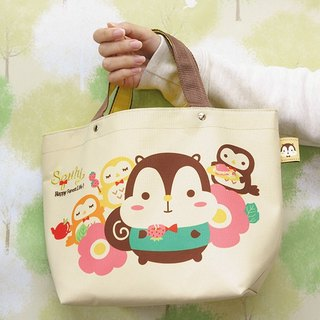 Squly & Owlsss Lunch Tote (D002SQB)