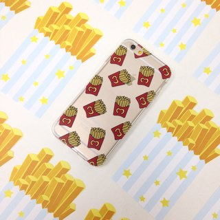 American fries Pattern Print Soft / Hard Case for iPhone X,  iPhone 8,  iPhone 8 Plus,  iPhone 7 case, iPhone 7 Plus case, iPhone 6/6S, iPhone 6/6S Plus, Samsung Galaxy Note 7 case, Note 5 case, S7 Edge case, S7 case