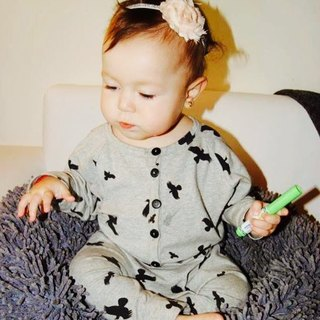 [Nordic children's clothing] Icelandic organic cotton jumpsuit