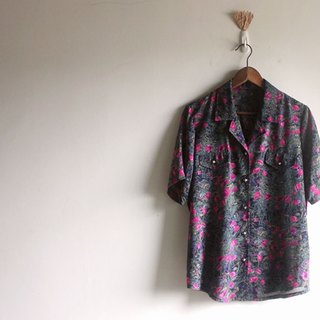 Psychedelic flowers shirt