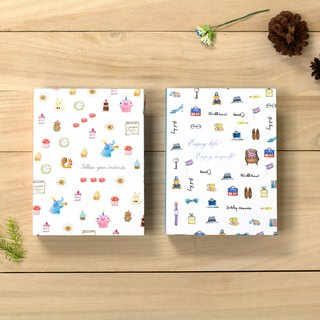 Boge stationery x taste life [20K hardcover recall album] two designs