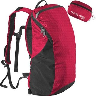 American ChicoBag Travel Pack backpack - cherry red