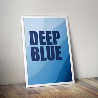 Jumped into touch deep deep blue
