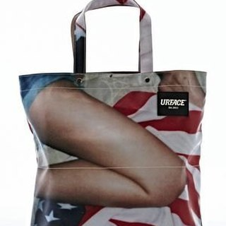 [URFACE] KACHAIN ​​Artist Series / girl leg Close Shopping Bag