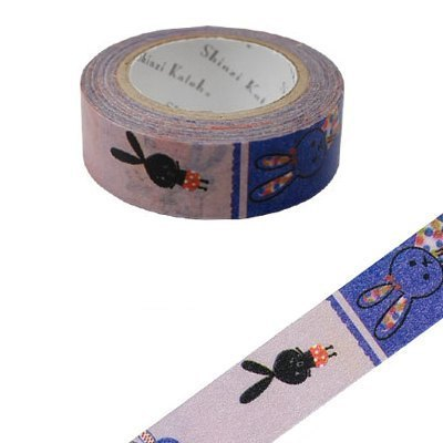 Shinzi Katoh Kato Shinji Illustration Masking Tape (Rabbit KS-MT-10004)