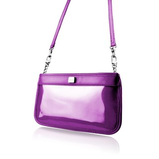 【LIEVO】 CUTE - Smartphone leather dual-use portable bag _ pretty purple (iPhone 8 Plus / Note5 / Z5 / 5.7 inch screen the following phones are applicable)