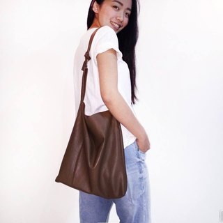 AM0000 ||| little Dai bag '' Little Dai ': rub soft warm brown calfskin (leather Limited models)