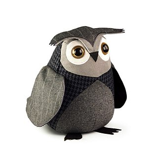 SUSS-UK imported high quality design owl puppet style decoration door stop (small owl model)