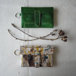 [Kaka & amp; sun] leather wallets handmade leather goods. Batik