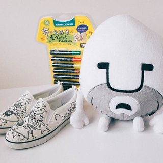 Riceman magical party canvas shoes