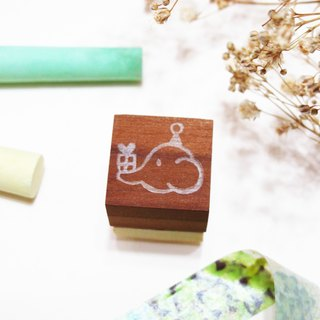[Stock goods] handmade rubber stamp - living imprint (Q)