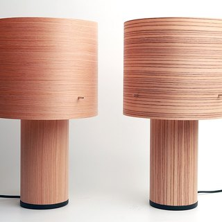 afteraindesign WOOD Lamp (Zebra Wood)