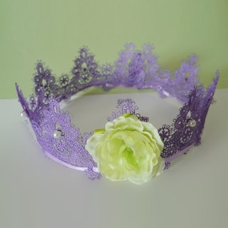 Children's Lace crown