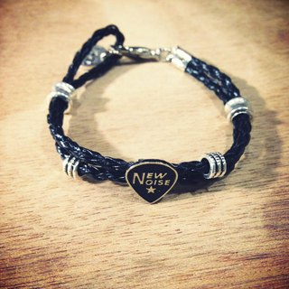 NEW NOISE - PARALLEL STUD LOGO PICK BRACELET
